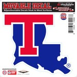 "Stockdale Louisiana Tech University 6"" x 6"" Decal"