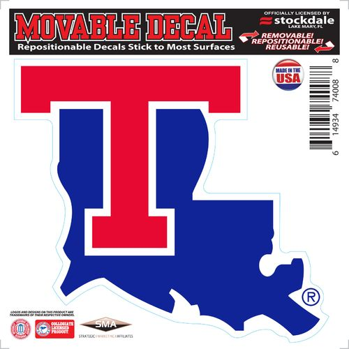 Stockdale Louisiana Tech University 6' x 6' Decal
