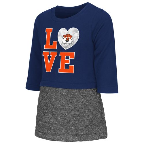 Colosseum Athletics Toddler Girls' Auburn University Glitter Dress
