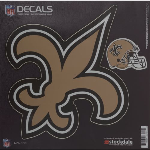 Stockdale New Orleans Saints Repositionable Vinyl Decal