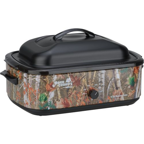 Open Country® Camo 18 qt. Electric Roaster Oven