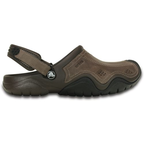 Crocs Men's Swiftwater Leather Clogs