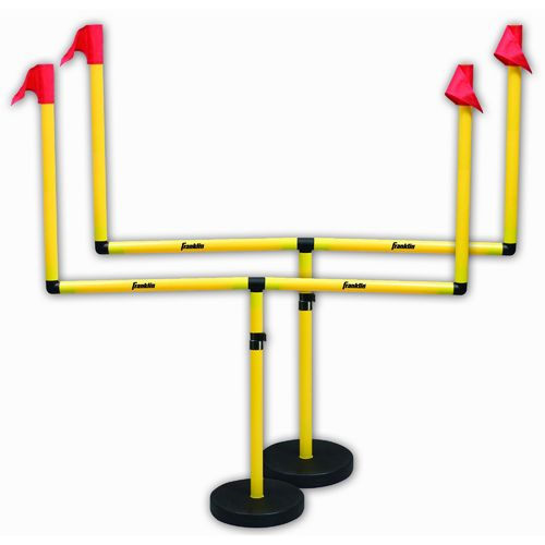Display product reviews for Franklin Youth Football 6' x 4' Goalposts 2-Pack