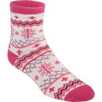 Magellan Outdoors™ Women's Lodge Snowflake Quarter Socks