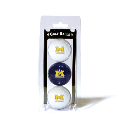 Team Golf University of Michigan Golf Balls 3-Pack - view number 1