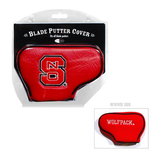 Team Golf North Carolina State University Blade Putter Cover