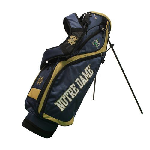 Team Golf University of Notre Dame Nassau Stand Bag