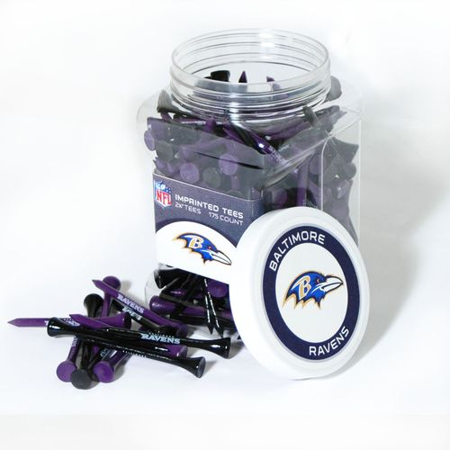 Team Golf Baltimore Ravens Tees 175-Pack
