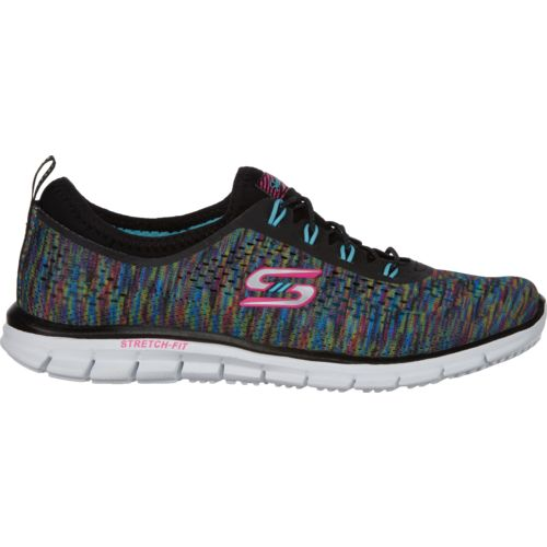 SKECHERS Women's Stretch Fit Glider Fearless Active Shoes