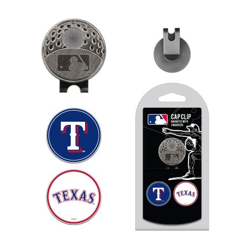 Team Golf Texas Rangers Marker Cap Clip