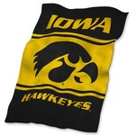 Logo™ University of Iowa Ultrasoft Blanket - view number 1