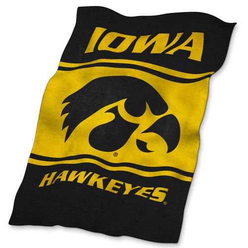 Logo™ University of Iowa Ultrasoft Blanket