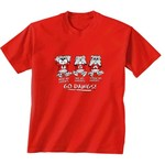 New World Graphics Toddlers' University of Georgia No Evil T-shirt