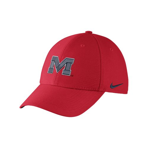 Nike™ Adults' University of Mississippi Swoosh Flex Cap - view number 1
