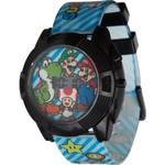 Nintendo Kids' Super Mario Flashing Watch