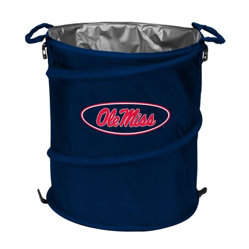 Logo™ University of Mississippi Collapsible 3-in-1 Cooler/Hamper/Wastebasket