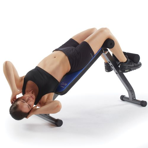 Pure Fitness Ab Crunch Sit-Up Bench - view number 2