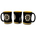 Boelter Brands Boston Bruins 14 oz. Relief Mugs 2-Pack - view number 1