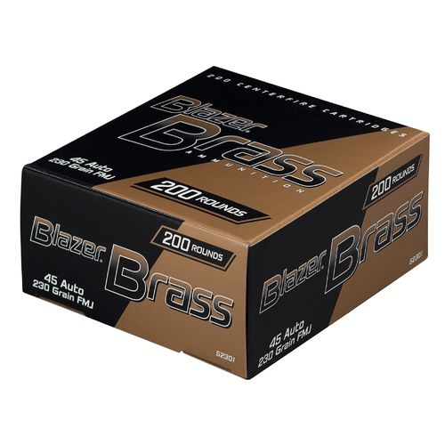 Blazer® Full Metal Jacket .45 Auto 230-Grain Handgun Ammunition