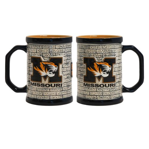 Boelter Brands University of Missouri Stone Wall 15 oz. Coffee Mugs 2-Pack