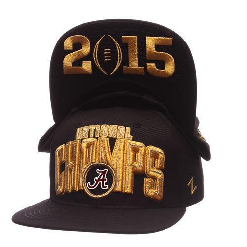 Zephyr Adult's Alabama 2015 National Champions Flat Brim