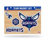 Tag Express Charlotte Hornets Team Magnet Set