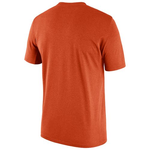 Nike Men's Clemson University Legend Dri-FIT Short Sleeve T-shirt - view number 2
