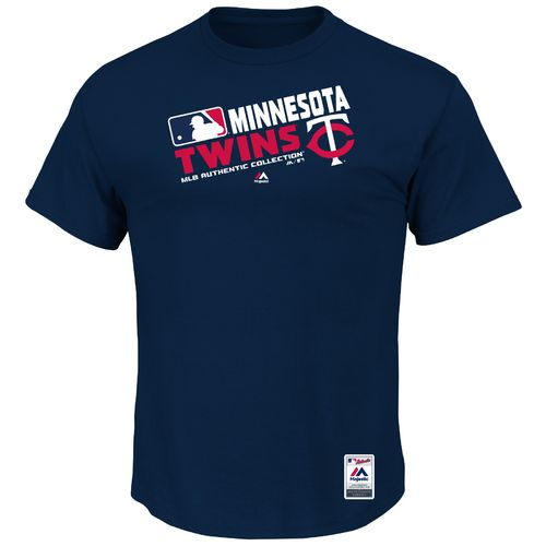 Majestic Men's Minnesota Twins On Field Team Choice T-shirt