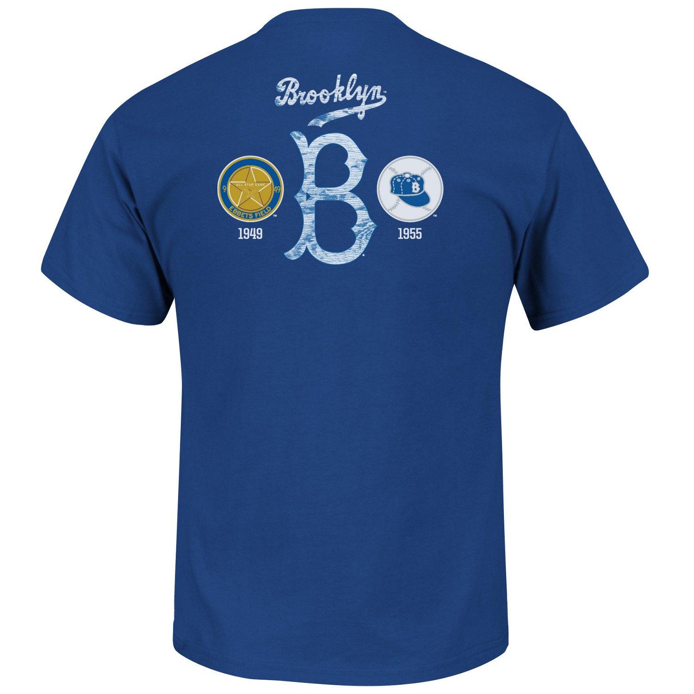 Majestic Men's Brooklyn Dodgers Last Rally T-shirt