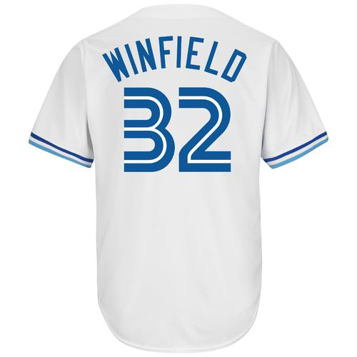 Majestic Men's Toronto Blue Jays Dave Winfield #32 Cooperstown Cool Base Replica Jersey