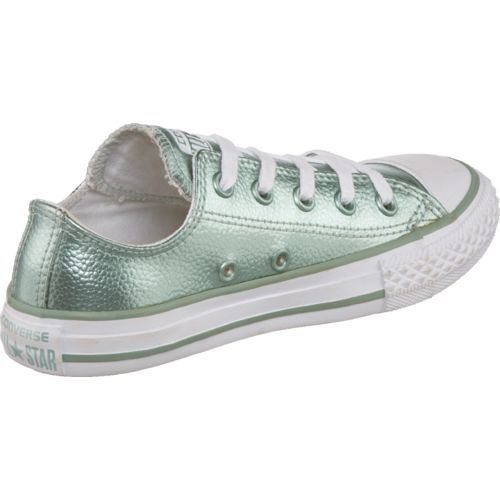 Converse Girls' Chuck Taylor All Star Stingray Metallic Low-Top Shoes - view number 3
