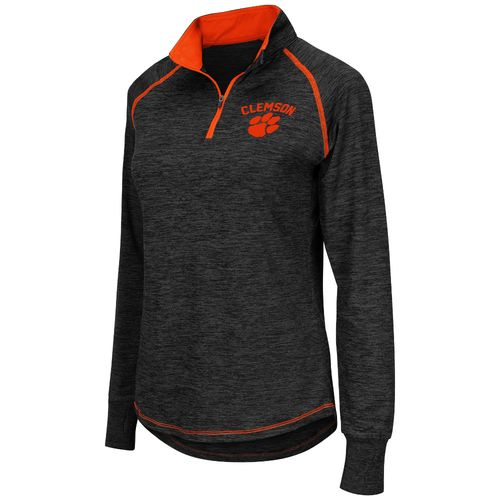 Colosseum Athletics™ Women's Clemson University Bikram 1/4 Zip Pullover
