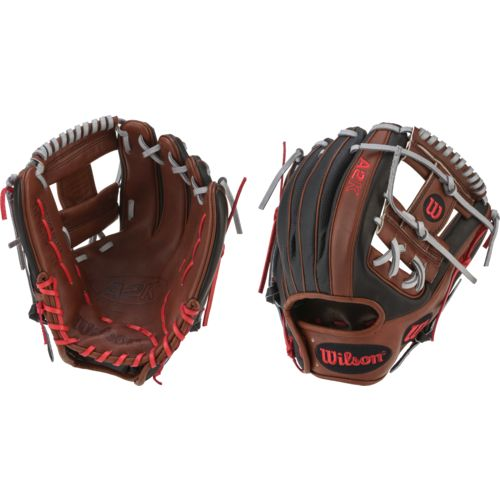 "Wilson Men's A2K DP15 11.5"" Infield Baseball Glove"