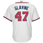 Majestic Men's Atlanta Braves Tom Glavine #47 Cool Base Home Replica Jersey