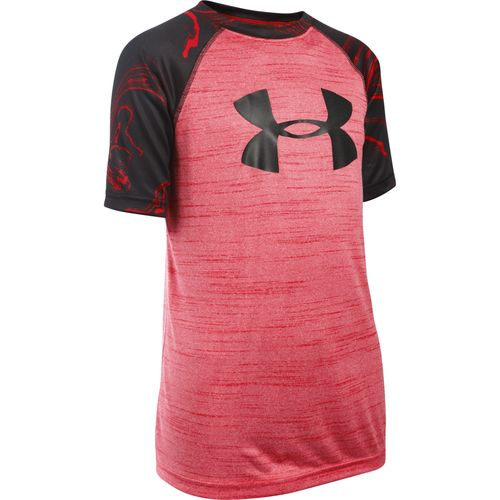 Under Armour® Boys' Big Logo Printed T-shirt