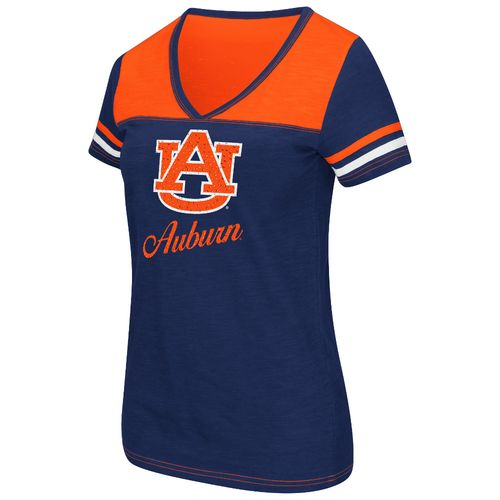 Colosseum Athletics™ Women's Auburn University Rhinestone Short Sleeve T-shirt