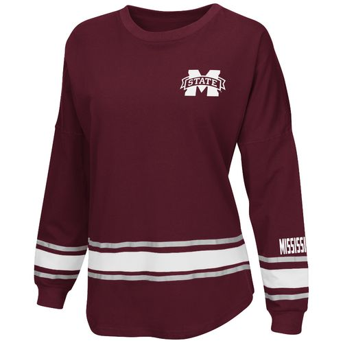 Colosseum Athletics™ Women's Mississippi State University All Around Oversize Long Sleeve T