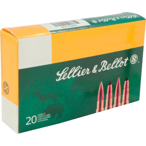 Sellier & Bellot SPCE Centerfire Rifle Ammunition