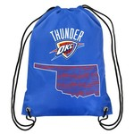 Team Beans Oklahoma City Thunder Drawstring Backpack