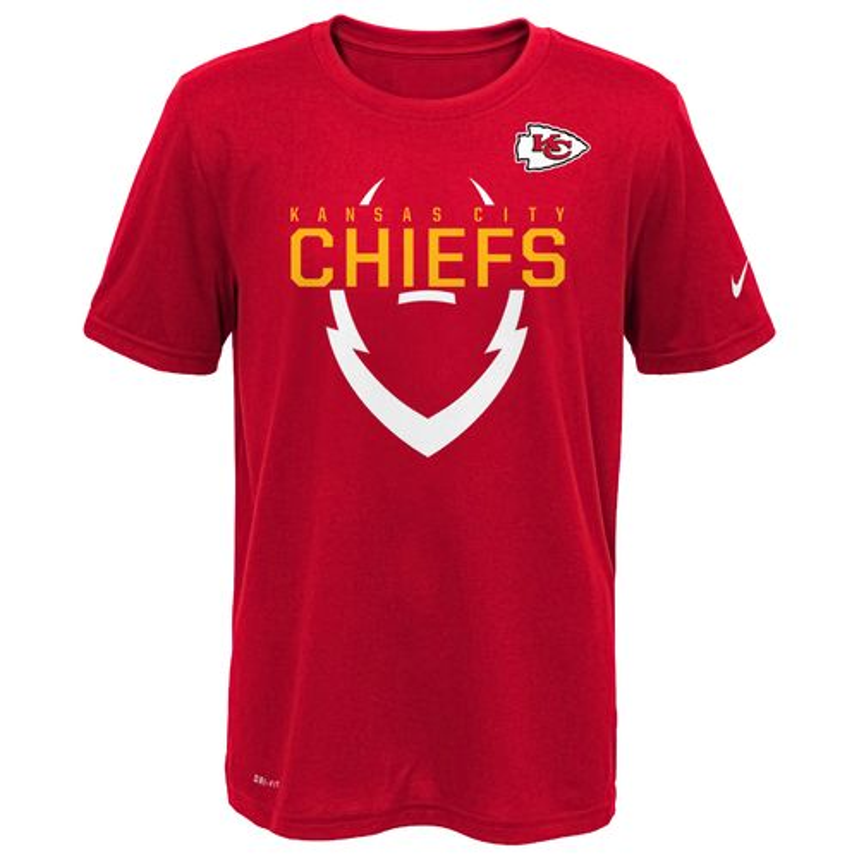 Nike™ Boys' Kansas City Chiefs 2016 Icon T-shirt