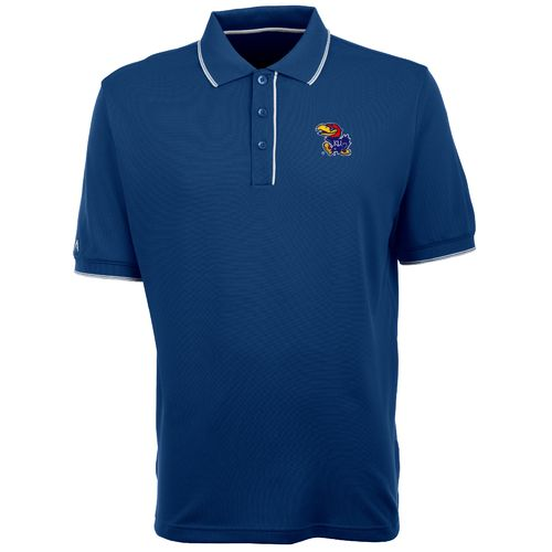 Antigua Men's University of Kansas Elite Polo Shirt