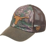 Top of the World Men's University of Texas Driftwood Cap