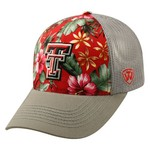Top of the World Men's Texas Tech University Ocean Front Adjustable Cap