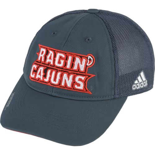 adidas™ Men's University of Louisiana at Lafayette Coach Flex Mesh Back Slope Cap
