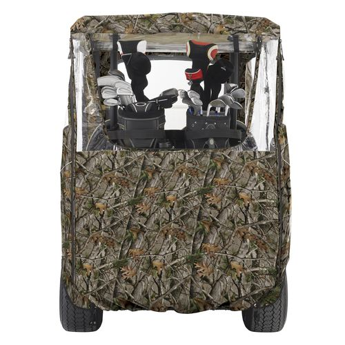 Classic Accessories Deluxe Camo Golf Cart Enclosure - view number 3