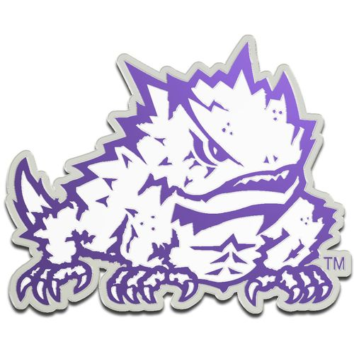 Stockdale Texas Christian University Laser-Cut Auto Emblem