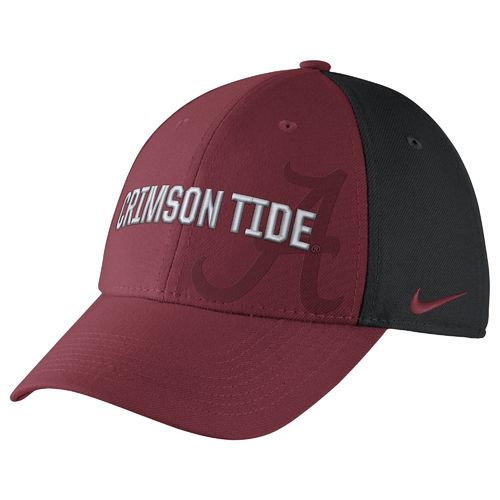 Nike™ Men's University of Alabama Classic Wordmark Swoosh Flex Cap