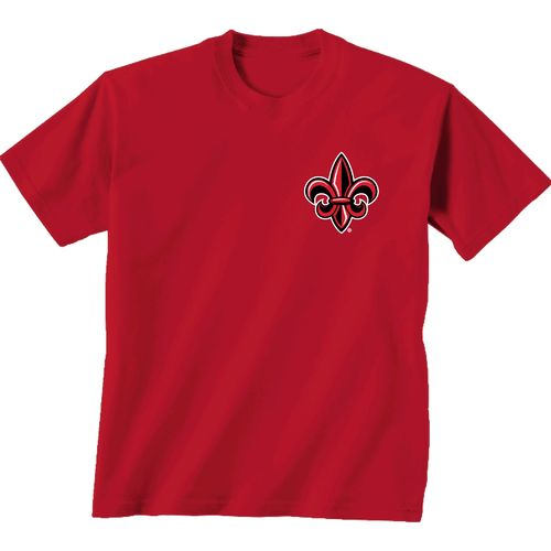 New World Graphics Women's University of Louisiana at Lafayette Madras T-shirt - view number 2