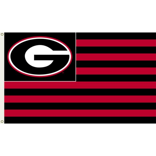 BSI University of Georgia 3'H x 5'W Striped Flag