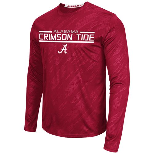 Colosseum Athletics™ Men's University of Alabama Sleet Embossed Long Sleeve T-shirt